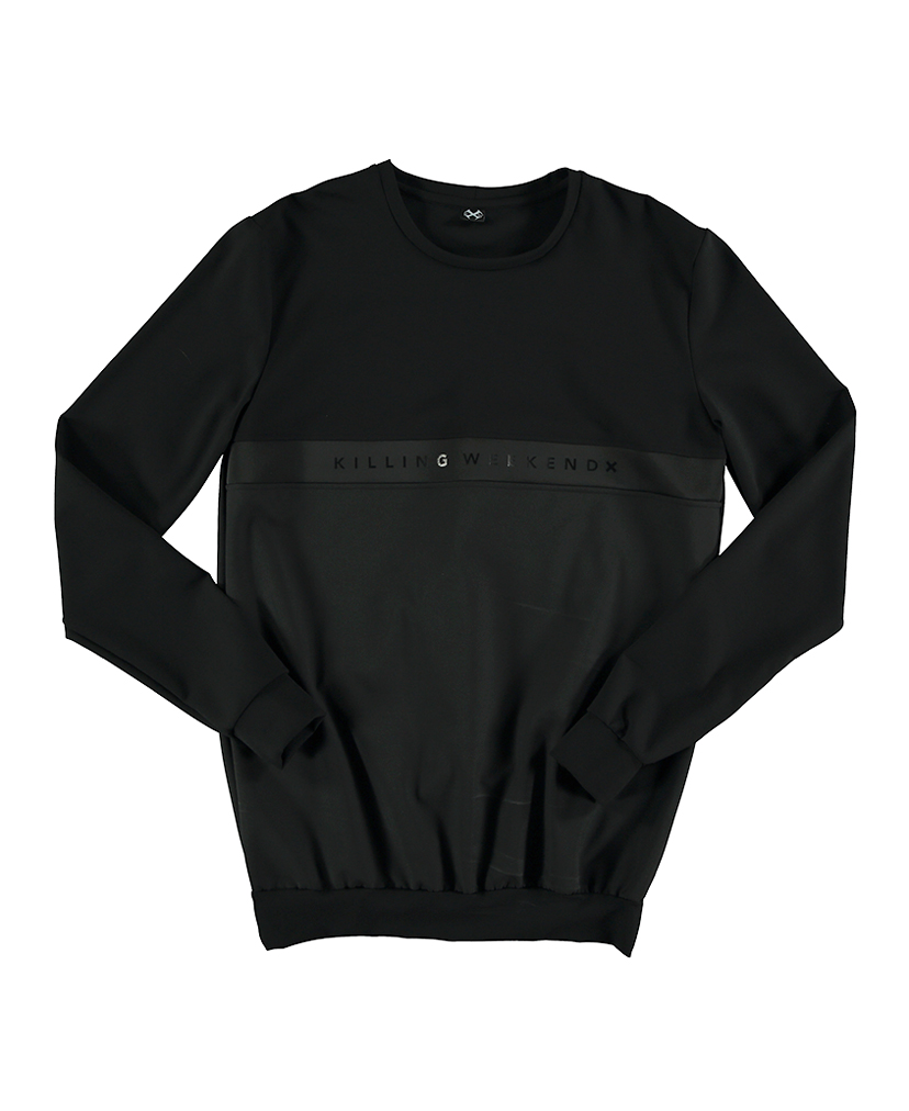 BLACK TONE SWEATSHIRT