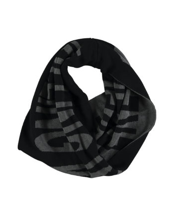 BLACK LOOP SCARF KWX